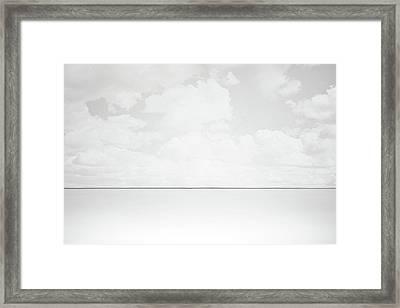 Line Of Sight Framed Print by Scott Norris