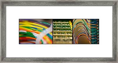 Lines Of Communication Framed Print by Lisa Knechtel