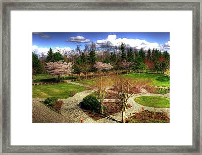 Lingyen Mountain Temple 18 Framed Print by Lawrence Christopher
