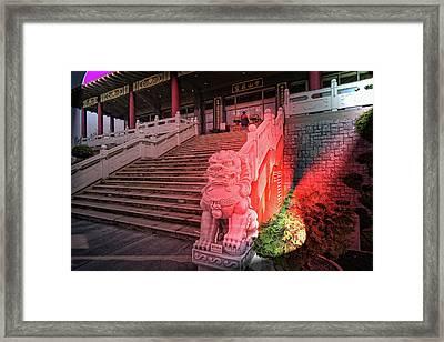 Lingyen Mountain Temple 31 Framed Print by Lawrence Christopher