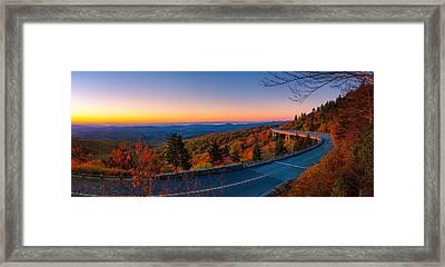 Linn Cove Viaduct Framed Print by Taylor Franta