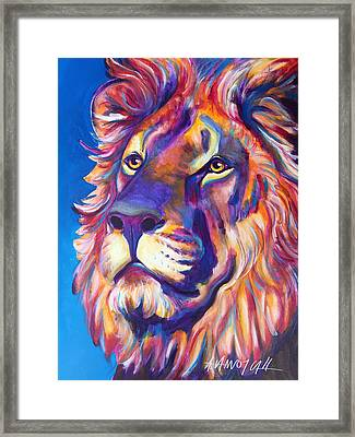 Lion - Cecil Framed Print by Alicia VanNoy Call
