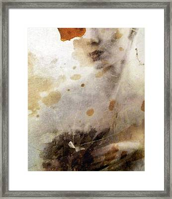 Lips Framed Print by Renata Vogl