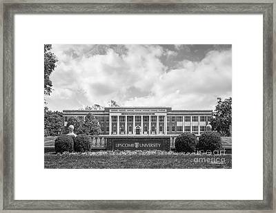 Lipscomb University Burton Health Sciences Center Framed Print by University Icons