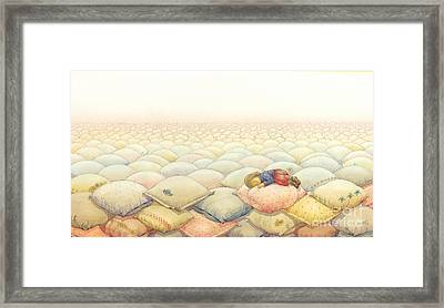Lisas Journey03 Framed Print by Kestutis Kasparavicius