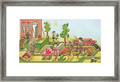 Lisas Journey08 Framed Print by Kestutis Kasparavicius