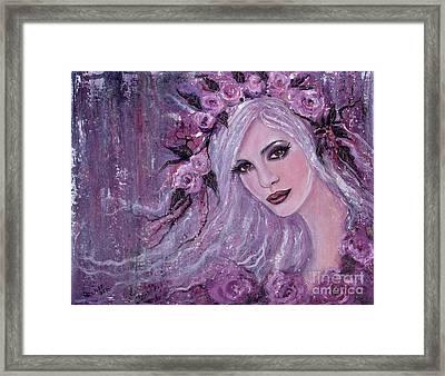 Liselotte Framed Print by Renee Lavoie