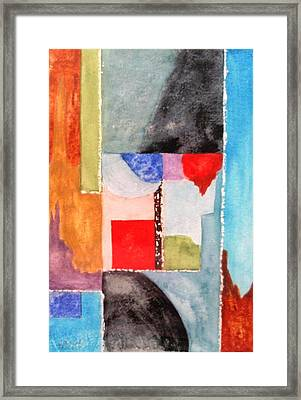 Little Abstract Framed Print by Jamie Frier
