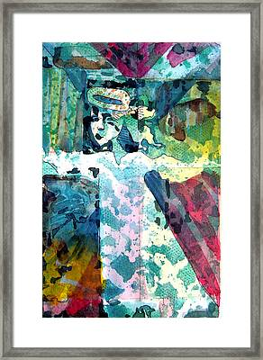 Little Angel Framed Print by Mindy Newman