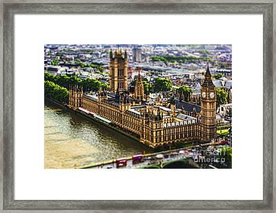 Little Ben Framed Print by Andrew Paranavitana