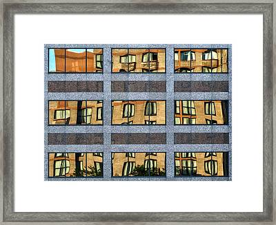 Little Boxes Framed Print by Anne Worner
