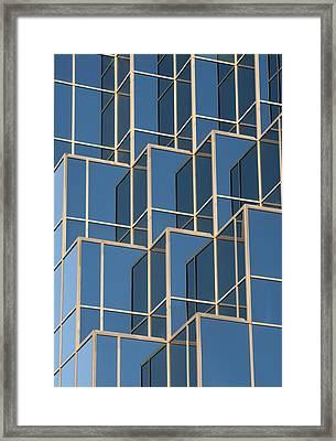 Little Boxes Framed Print by Elisabeth Van Eyken