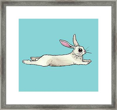 Little Bunny Rabbit Framed Print by Katrina Davis