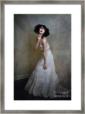 Little Corner Framed Print by Spokenin RED