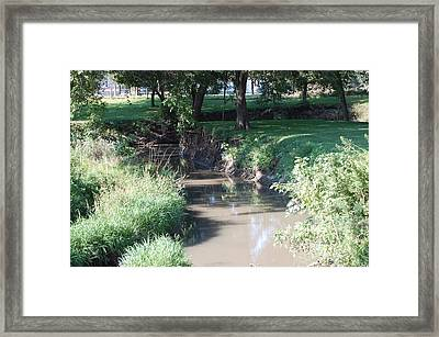 Little Creek Framed Print by Heather Chaput