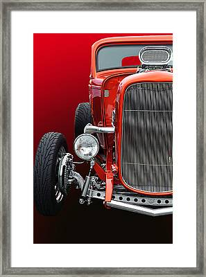 Little Deuce Coupe Framed Print by Jim  Hatch