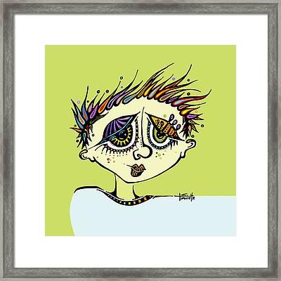 Little Einstein Framed Print by Tanielle Childers