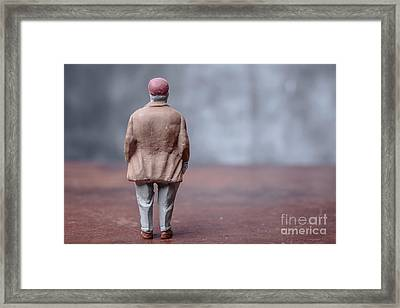 Little Fat Guy Framed Print by Edward Fielding
