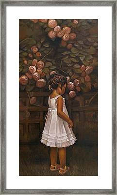 Little Flower Framed Print by Curtis James