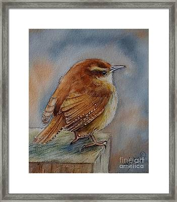 Little Friend Framed Print by Patricia Pushaw