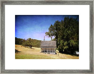 Little House Framed Print by Laurie Search