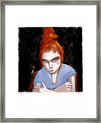 Little Jess Framed Print by H James Hoff