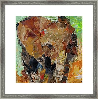 Little Makena   Framed Print by Marsha Heimbecker