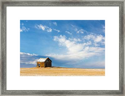 Little Old House Framed Print by Todd Klassy