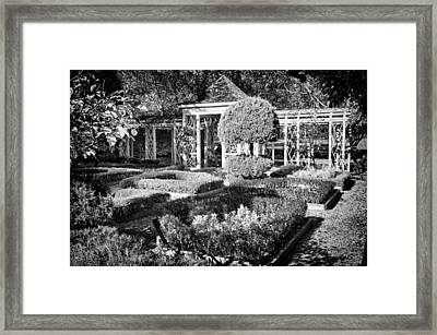 Little Park In Philadelphia 1 Framed Print by Val Black Russian Tourchin