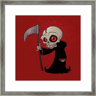 Little Reaper Framed Print by John Schwegel