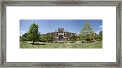 Little Rock Central High Panoramic Framed Print by Stephen Stookey
