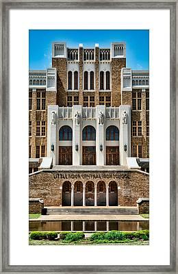 Little Rock Central High School Framed Print by Stephen Stookey