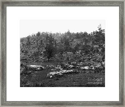Little Round Top Framed Print by Granger