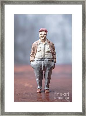 Little Toy Man Framed Print by Edward Fielding