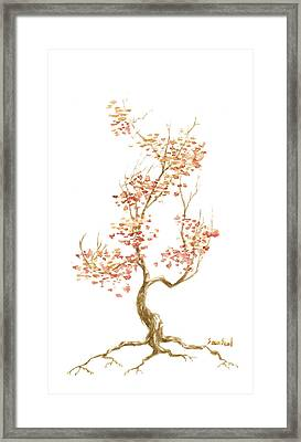 Little Tree 52 Framed Print by Sean Seal
