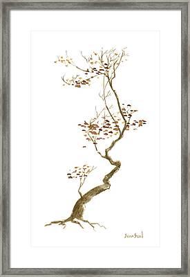 Little Tree 54 Framed Print by Sean Seal
