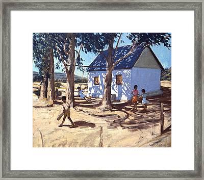 Little White House Karoo South Africa Framed Print by Andrew Macara