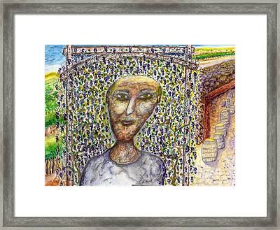Little Wine Maker Framed Print by Jim Taylor