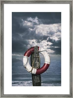 Live-saver Framed Print by Joana Kruse