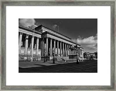 Liverpool's Saint George Hall Framed Print by Colin Perkins
