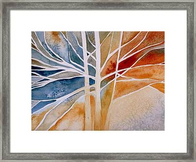 Lives Intertwined 2 Framed Print by Julie Lueders