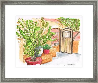Living Desert Botanical Garden - California Framed Print by Carlos G Groppa