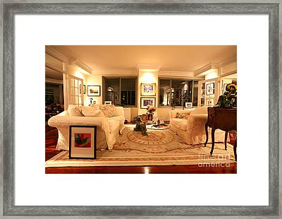 Living Room IIi Framed Print by Madeline Ellis