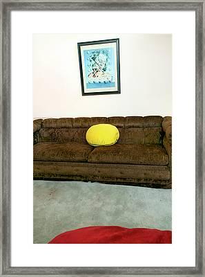 Living Room Framed Print by Ross Odom