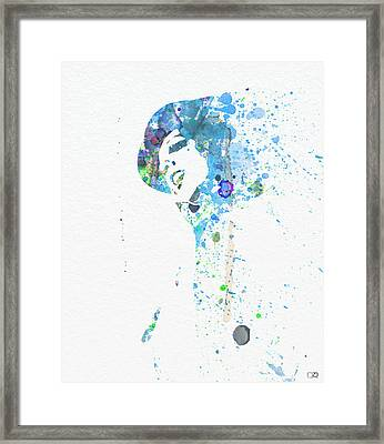 Liza Minnelli Framed Print by Naxart Studio