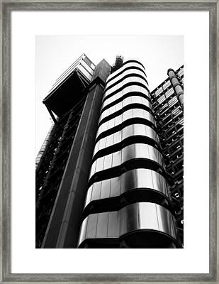 Lloyds Of London Framed Print by Martin Newman