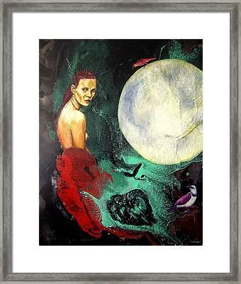 Lo Que Fue Framed Print by Salome Hernaiz