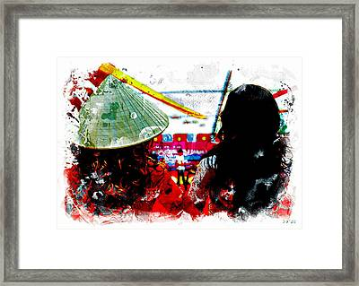 Local Contrast Framed Print by Jean Francois Gil