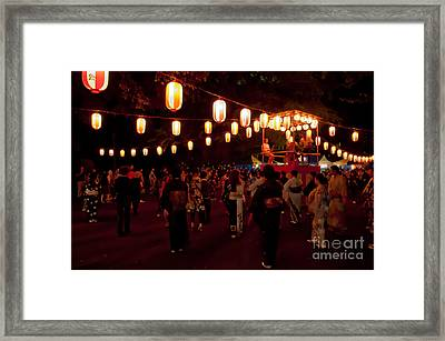 Local Festival Framed Print by Andy Smy