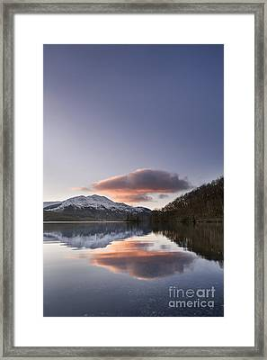 Loch Achray And Ben Venue 1 Framed Print by Rod McLean